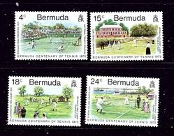 Bermuda 304-07 MNH 1973 Tennis    #2 - Bermuda