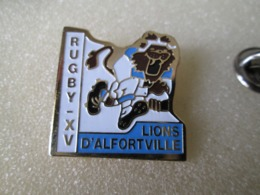 PIN'S   RUGBY  XV  LIONS D ALFORTVILLE - Rugby