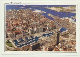 OOSTENDE /  LUCHTOPNAME  YACHTHAVEN EN HAVEN - Oostende