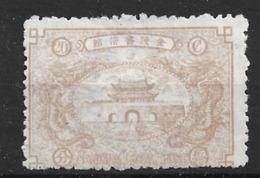 1896 CHINA NANKING LOCAL POST -20c Brown  UNUSED H CHAN LN8 Mi Cv €120 - China