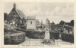 53.  SAINT DENIS DE GASTINES.    LE MONUMENT AUX MORTS - Autres Communes