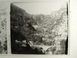 ALGÉRIE - TLEMCEN - Vue - Plaque De Verre Stéréoscopique 6x13 - Positif -:TBE - Diapositivas De Vidrio