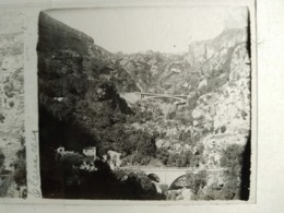 ALGÉRIE - TLEMCEN - Vue - Plaque De Verre Stéréoscopique 6x13 - Positif -:TBE - Diapositiva Su Vetro