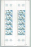 CONGO  Feuille De 25 Timbres  Poste Aérienne  Alphonse Fondere Bâteau Daté Du 3/5/1976 - Postzegels