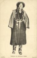 Tibet Thibet, Native Tibetan Woman Of Central Tibet (1930s) Postcard - Tibet