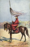 Tibet Thibet, Lama Standard Bearer (1910s) Tuck Oilette Postcard - Tibet