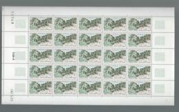 MAURITANIE    Feuille De 25 Timbres Palmeraie Coin Daté 24/5/1965 - Mauritanië (1960-...)