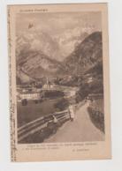 Courmayeur (AO) , Con Versi Di G. Carducci - F.p. - Anni '1910 - Andere Steden