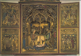 BOLZANO, Chiesa Dei PP. Francescani, Altare Di Hans Klocker, BOZEN Franziskanerkirche, KRIPPE, Altar Von Hans Klocker - Bolzano (Bozen)