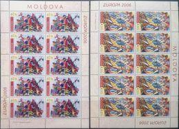 Moldova, 2006, Mi. 549-50, Y&T 474-75, Sc. 524-25, SG 541-42, Europa, Integration, MNH - 2006