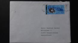 Lithuania - 1995 - Mi:LT 595, Yt:LT 520, Sg:LT 598 On Envelope - Look Scan - Lithuania