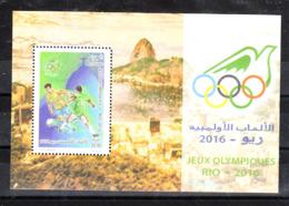 Algeria   -  2016.  Calcio:Torneo Olimpico. Football: Olympic Tournament. Sheet - Summer 2016: Rio De Janeiro