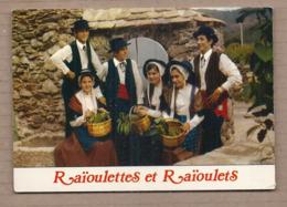CPSM 30 - LA GRAND'COMBE - Groupe Folklorique De L'ELAN - TB PLAN Groupe Peronnes En Costume Raïoulettes + Raïoulets - La Grand-Combe