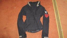 WW2 USN Uniform  Rare Service Branch - Uniform