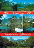 1 AK Norwegen * 1 Trolltindane, 2 Fjellene, 3 Trollveggen, 4 Trollstigen, 5 Vengetindane Und 6 Romsdalen * - Norwegen