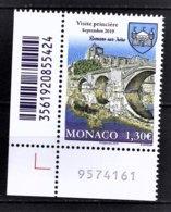 MONACO 2019 - ANCIENS FIEFS DES GRIMALDI - ROMANS-SUR-ISÈRE  - NEUF ** - Nuovi