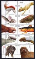 Iceland  Island IJsland 2009 R MNH Sheet Prehistoric Mythical Animals Animaux Dieren Tiere Zwierzęta животные Creatures - Prehistory