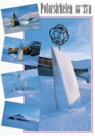 1 AK Norwegen * Polarsirkelen - Polarkreis - Winter At The Arctic Circle Center * - Norwegen