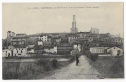Castelnau De Lévis Et La Tour De L' Ancien Chateau Féodal - France