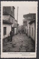 CPA - Espana / Spain -  BAYONA, La Tipica Calle Del Conde,  Fotografica. - Pontevedra