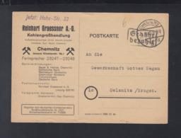 PK Gebühr Bezahlt 1945 Chemnitz Nach Oelsnitz - Sowjetische Zone (SBZ)