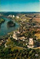 27 - Les Andelys - Vue Générale Aérienne - Le Château Gaillard - La Seine - Voir Scans Recto-Verso - Les Andelys