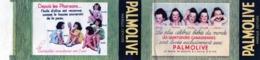"""Collerette De Savonnette PALMOLIVE """" Les Quintuplées Canadiennes Sont Lavées Exclusivement Avec PALMOLIVE - Publicité"""