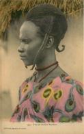 AFRIQUE  Collections Barthes Et Lesieur  TETE DE FEMME BAMBARA - Postkaarten