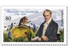 BRD GERMANY 2019 MNH Alexander Von Humboldt 1v - OFFICIAL ISSUE - DH1935 - Natur