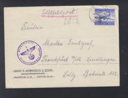 Dt. Reich Feldpost 47951 Organisation Todt -Bauleitung Smolensk (RAB) 1942 - Brieven En Documenten