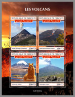 DJIBOUTI 2019 MNH Volcanoes Vulkane Volcans M/S - IMPERFORATED - DH1935 - Volcans