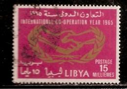 LYBIE OBLITERE - Libye