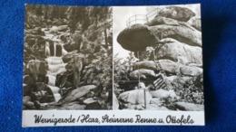 Wernigerode Harz Steinerne Renne U. Ottofelsen Germany - Wernigerode