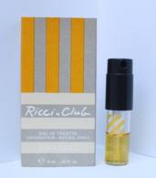 Nina Ricci Ricci Club Atomiseur - Miniatures Femmes (avec Boite)