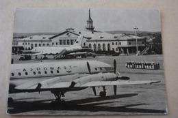 Russia. Sverdlovsk Airport  1965.   AEROPORT FLUGHAFEN - Old Plane - Avion IL - Aérodromes