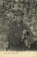 Tibet Thibet, Lama Priest With Prayer Wheel (1910s) Postcard - Tibet