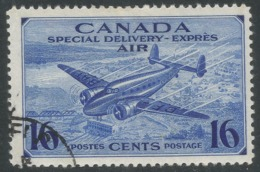 Canada. 1942 Special Delivery. Air. 16c Used. SG S13 - Airmail: Special Delivery