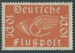 1919 GERMANIA REPUBBLICA DI WEIMAR POSTA AEREA 10 P MNH ** - UR43-7 - Nuovi