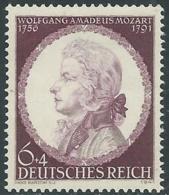 1941 GERMANIA TERZO REICH MOZART MNH ** - UR34-4 - Ungebraucht