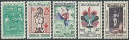 1960 TUNISIA SCOUT MNH ** - UR43-9 - Tunisia (1956-...)