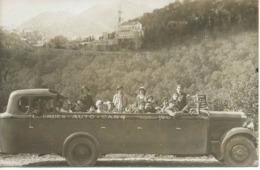 Carte-photo : Touristes D'OLIVET (Loiret) En Visite à LOURDES. Année : Août 1932. - Lourdes