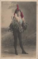 E19- ARTISTE  FEMME - FRAU - LADY -  D'ALMINY - GAITE ROCHECHOUART - WALERY , PARIS - (OBLITRATION DE 1904 - 2 SCANS) - Entertainers