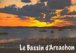 Gironde        H235         Bassin D'Arcachon.Coucher De Soleil - Arcachon