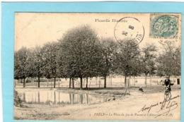 VRELY - La Place Du Jeu De Paume Et L'Abreuvoir - 1905 - - Otros Municipios