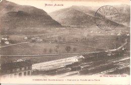 WESSERLING (68) La Gare - Vue Sur La Vallée De La Thur (Haute-Alsace) En 1916 - Autres Communes