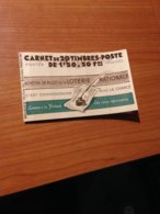 CARNET PETAIN - N° 517-C2 (secours National)- Avec Date Et Numero - TTB   (port Offert ) - Uso Corrente
