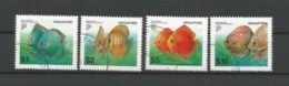 Singapore 2002 Fish Y.T. 1122/1125 (0) - Singapore (1959-...)