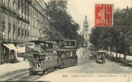 PARIS  14eme Arrondissement  Avenue D'orleans  TRAMWAYS - Arrondissement: 14