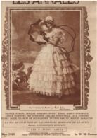 Les Annales 29.03.1925 - 3 Dessins Gervèse - Jack London Tristan Bernard - Hugo à Guernesey - Edgar Quinet - Libri, Riviste, Fumetti