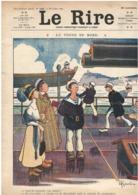 Le Rire 22.07.1911 - Gervèse Marine - Roubille Delaw - Nombreuses Publicités - 23 X 31 Cm - Books, Magazines, Comics